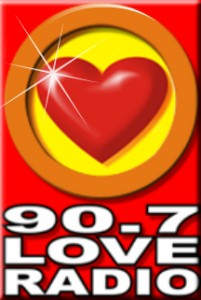 90.7 Love Radio Logo