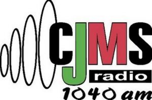 Le 1040 AM - CJMS-AM - L'authentique Montréal Québec