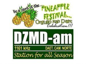 DZMD-AM Daet, Camarines Norte, Philippines